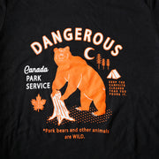 Danger Tee - Black