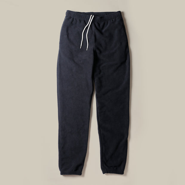 Sweatpants - Recycled Fleece Black