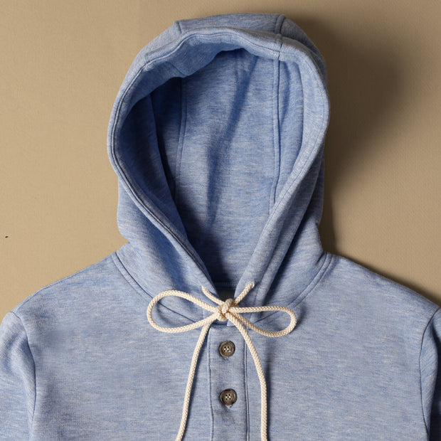 Camping Hoodie - Heather Blue