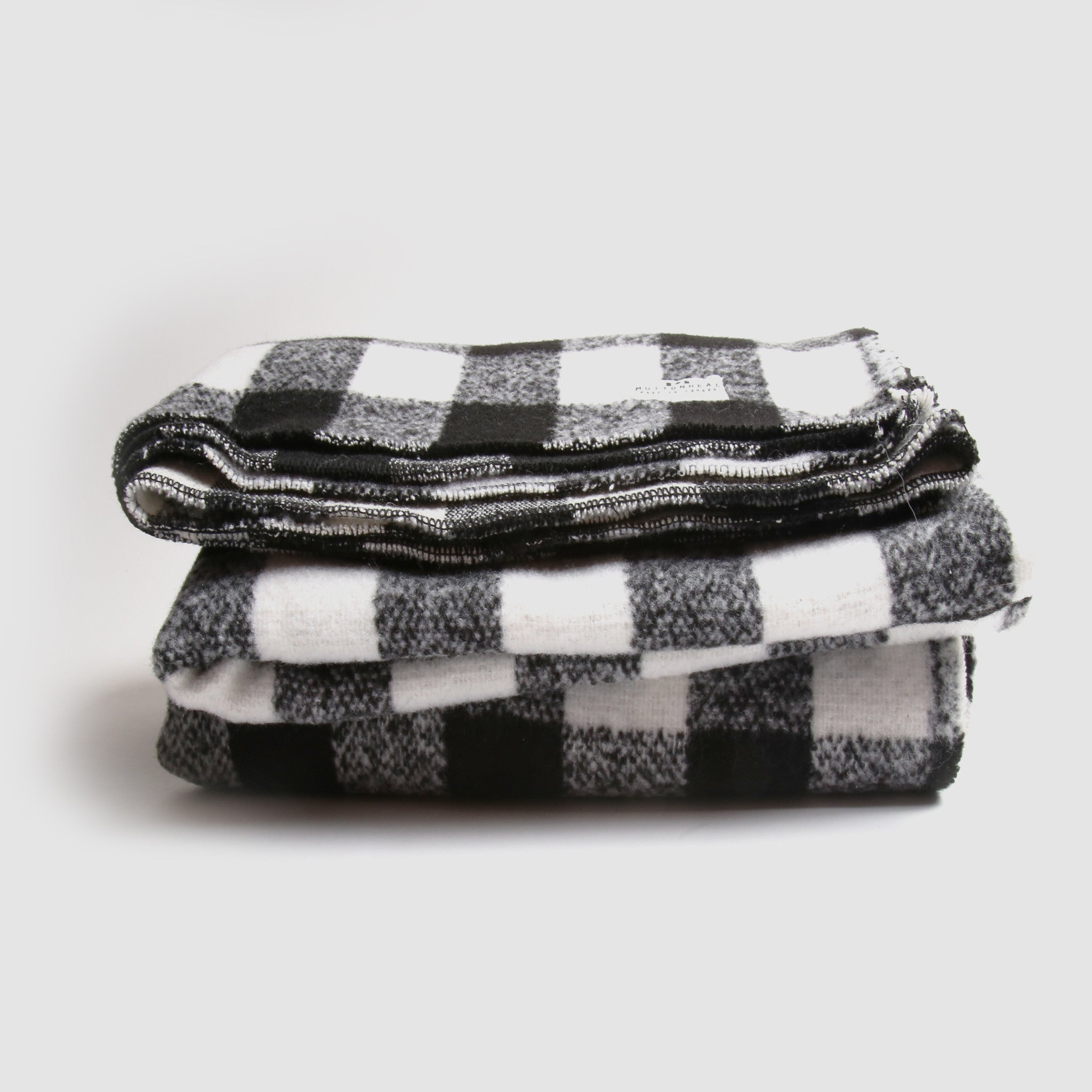 Camp Blanket - White Buffalo Check