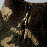Alpine Full Zip - Camo Sherpa
