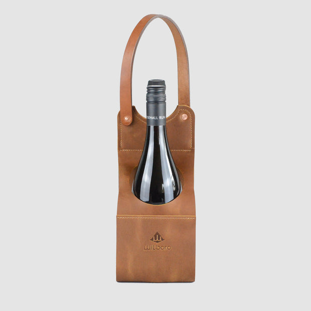 Wilboro Wine Caddy - Caramel