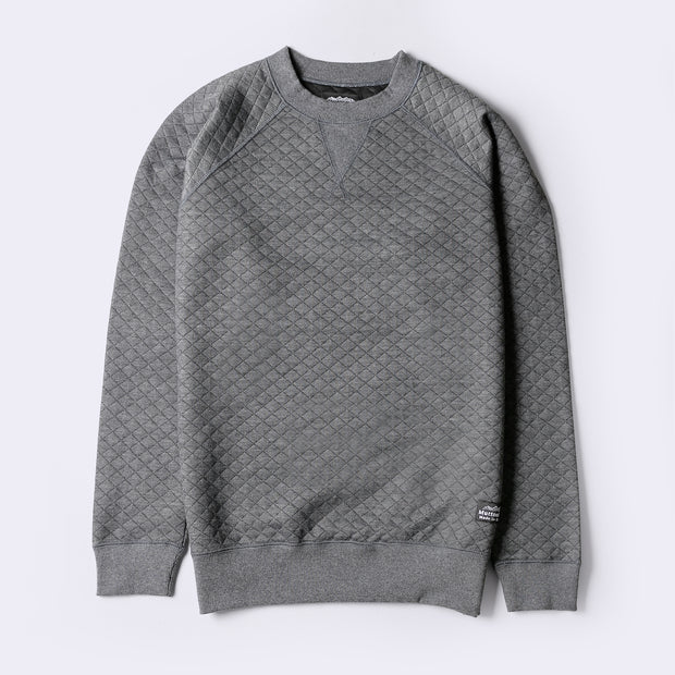 Classic Crew - Charcoal Quilt