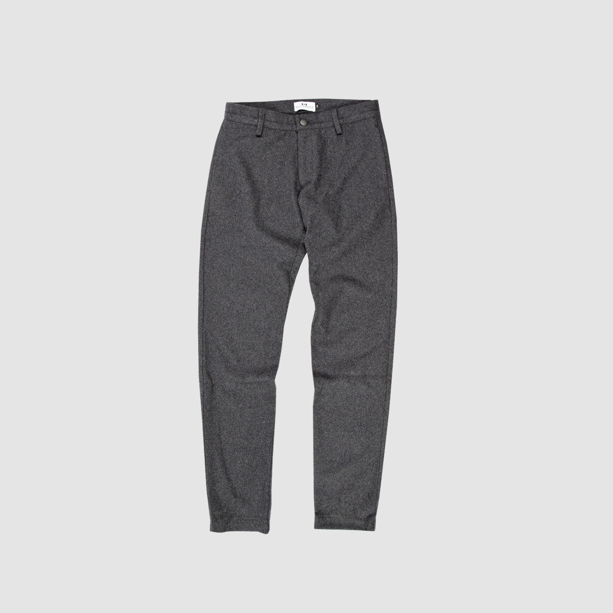 Wool Trousers - Charcoal