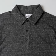 Recycled Polo Tee - Charcoal