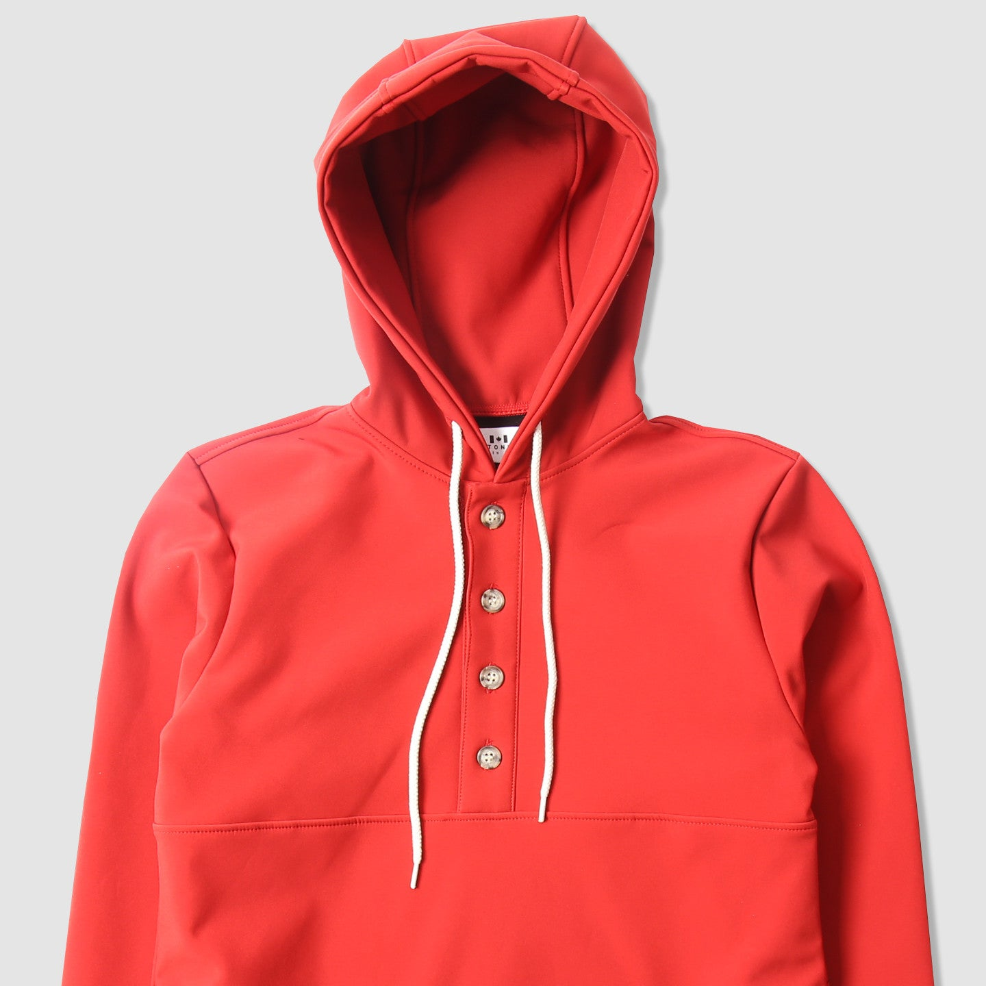 Waterproof Rain Camping Hoodie // Rose Red