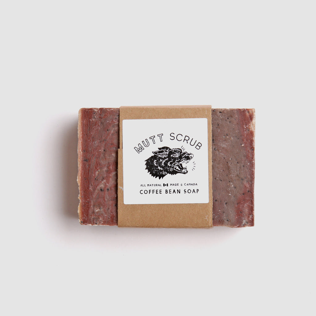 Mutt Scrub - Coffee Bean Soap