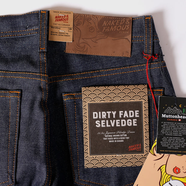 Weird Guy - Dirty Fade Selvedge