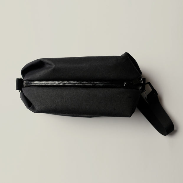 YNOT - Dopp Kit Travel Bag - Black Army Duck Canvas