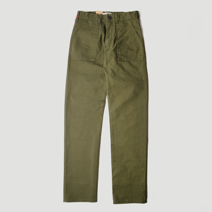 Women's Fatigue Pant - Green Canvas