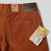 Women's Fatigue Pant - Brick Canvas