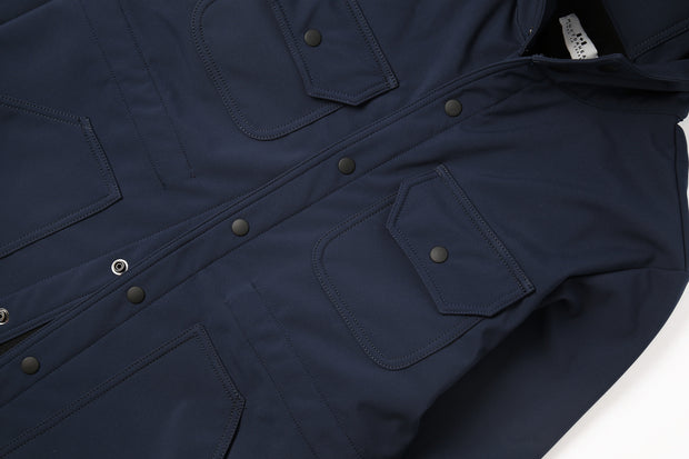 Waterproof Fishtail Parka - Navy