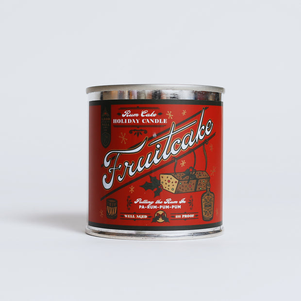 Good & Well - Fruitcake Candle 8oz