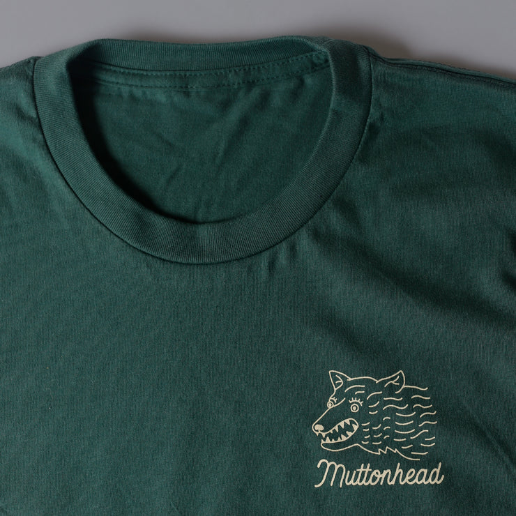 Woods Tee - Forest Green