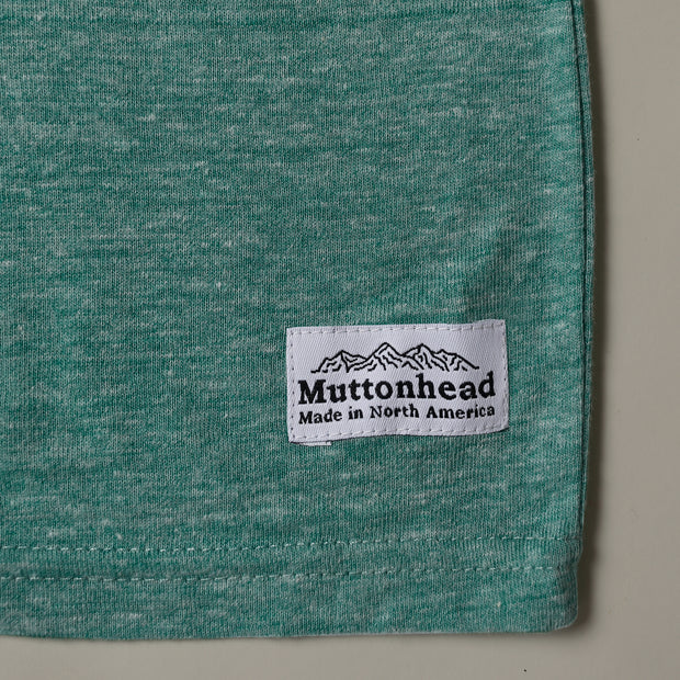 Recycled Tee - Let the Good Times Roar - Heather Green