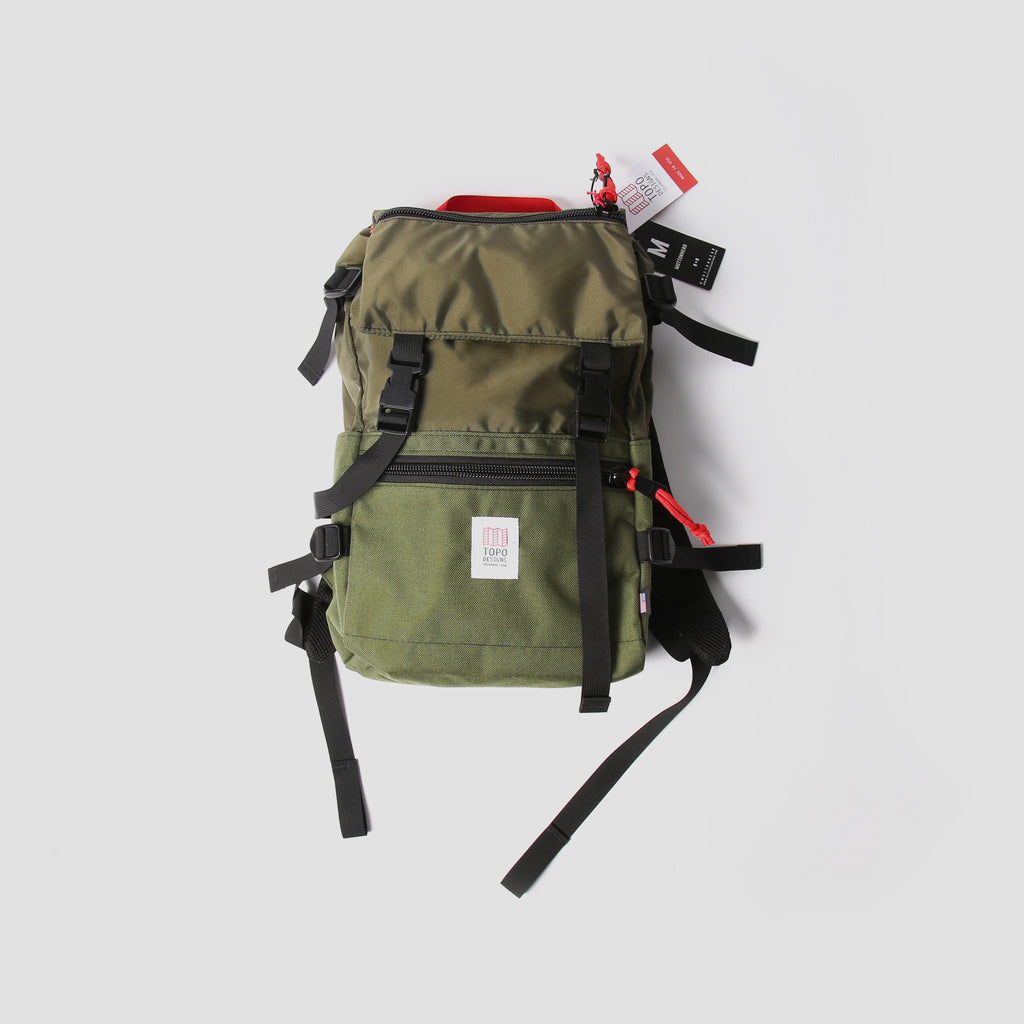 Topo Rover Pack - Olive / Hunter