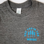 Baby Recycled Tee - Woods - Heather Grey