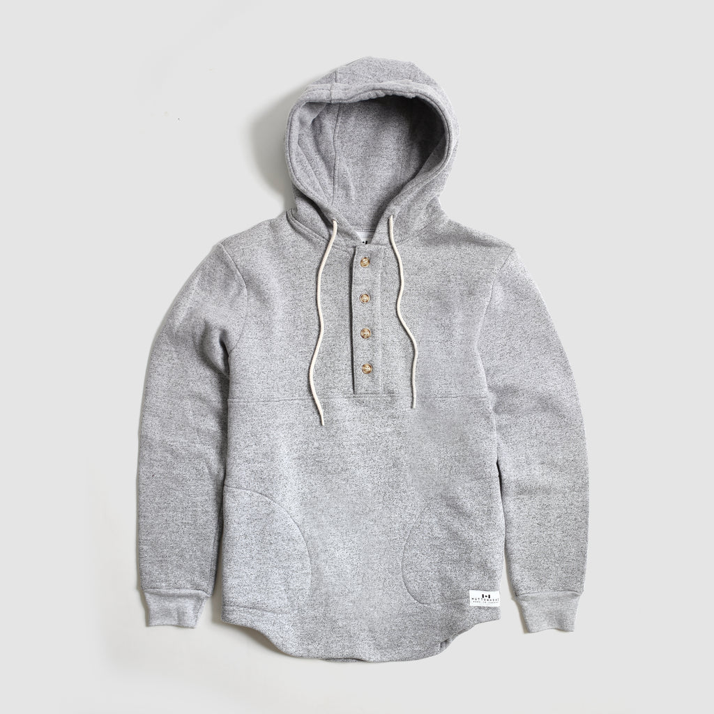 Camping Hoodie - Heather Grey