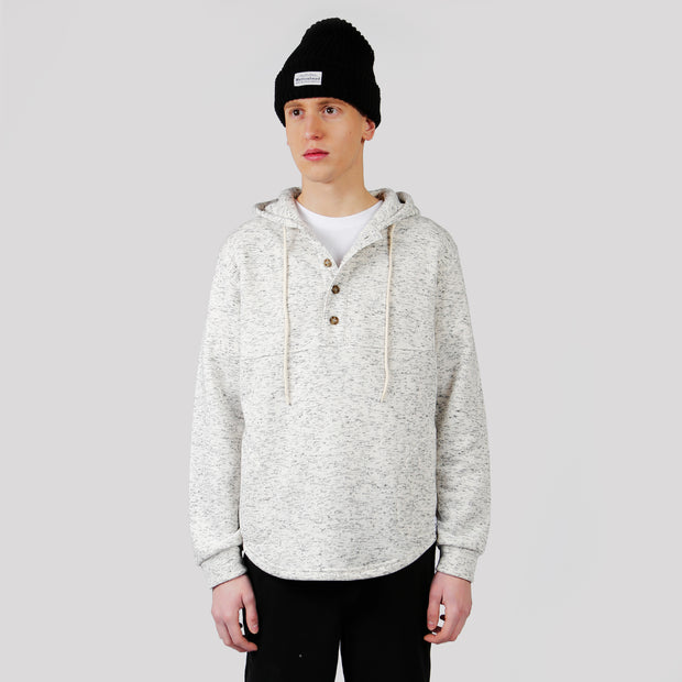 Camping Hoodie - Heather White