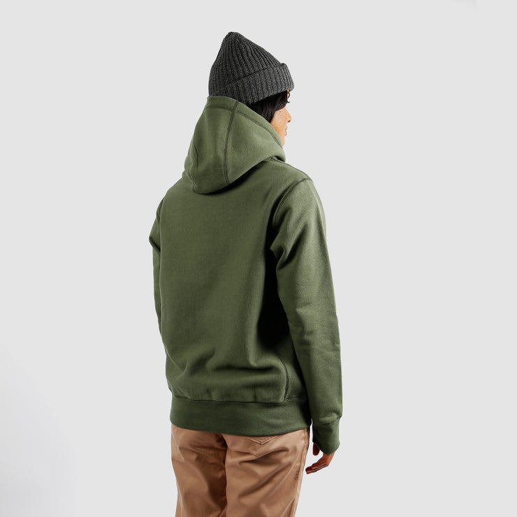 Pullover Cabin Hoodie - Olive