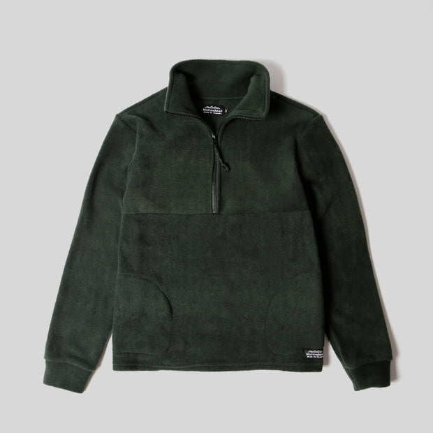 Alpine 1/4 Zip  - Forest Polar Fleece