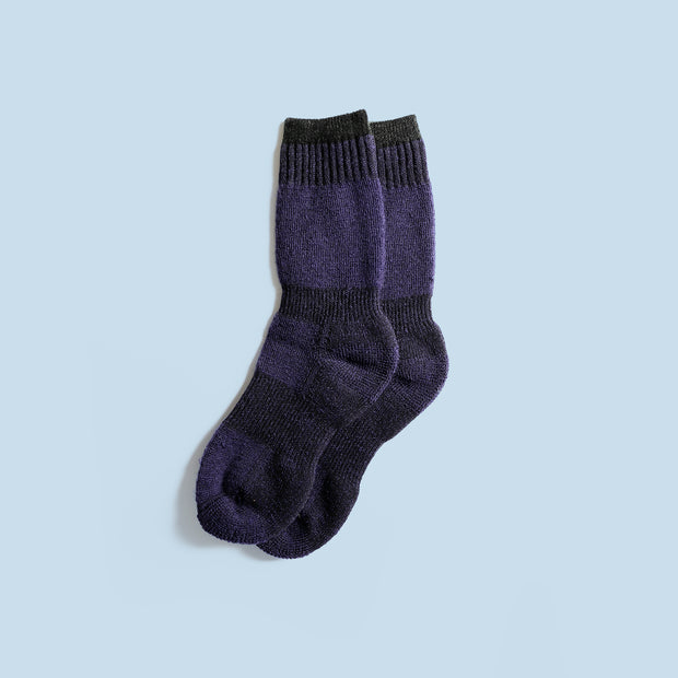 Kids Back Country Socks - Navy