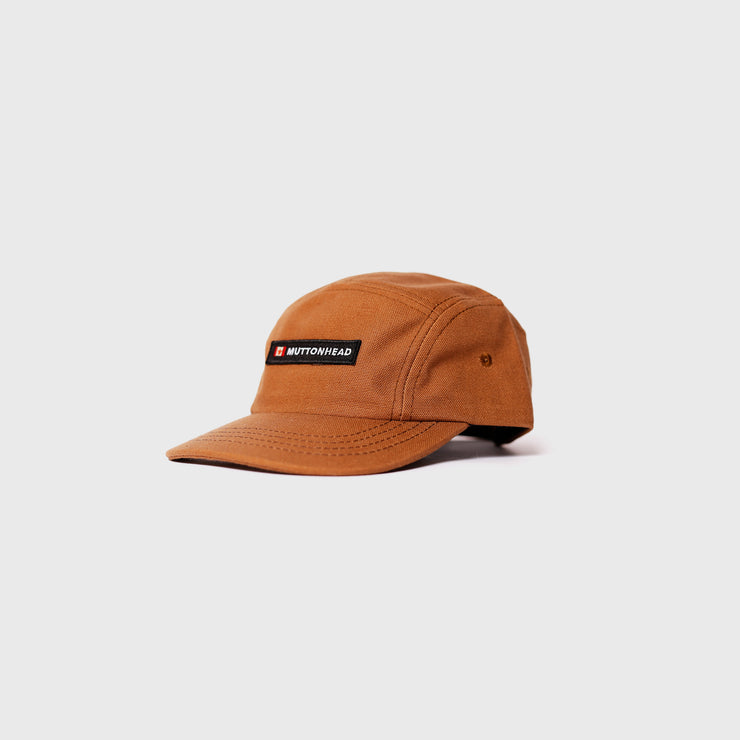 Kids 5 Panel Rust - Canada Patch