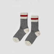 Kids Mountain Socks  - Red Stripe