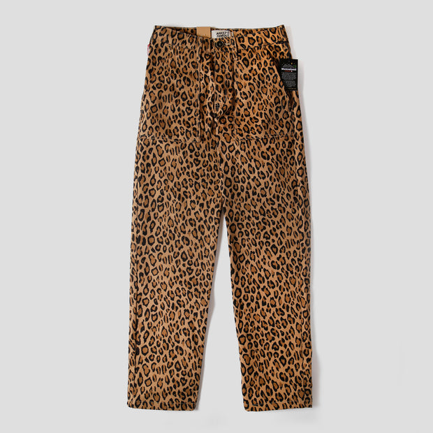Work Pant - Leopard Print with Tiger Camo Interior