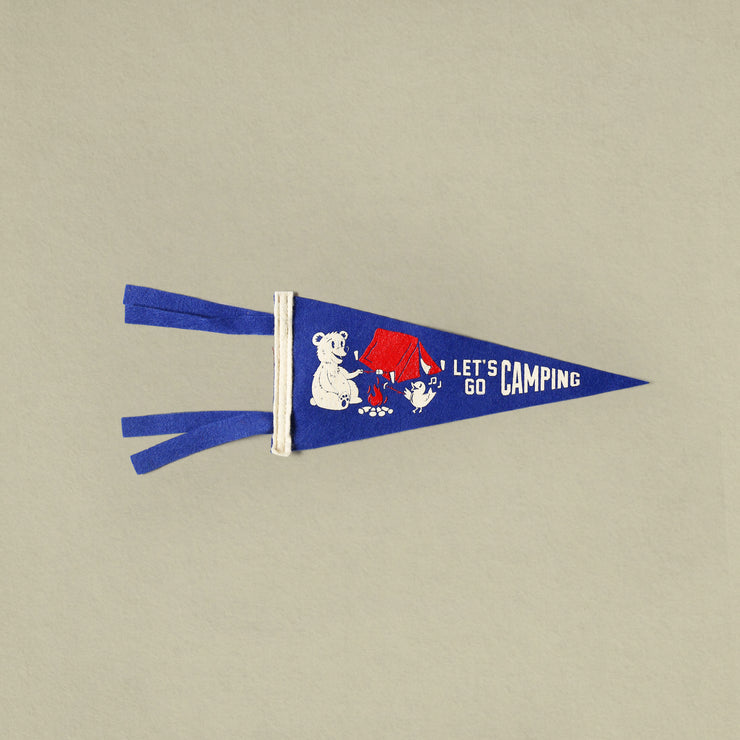 Good & Well - Let's Go Camping Mini Pennant