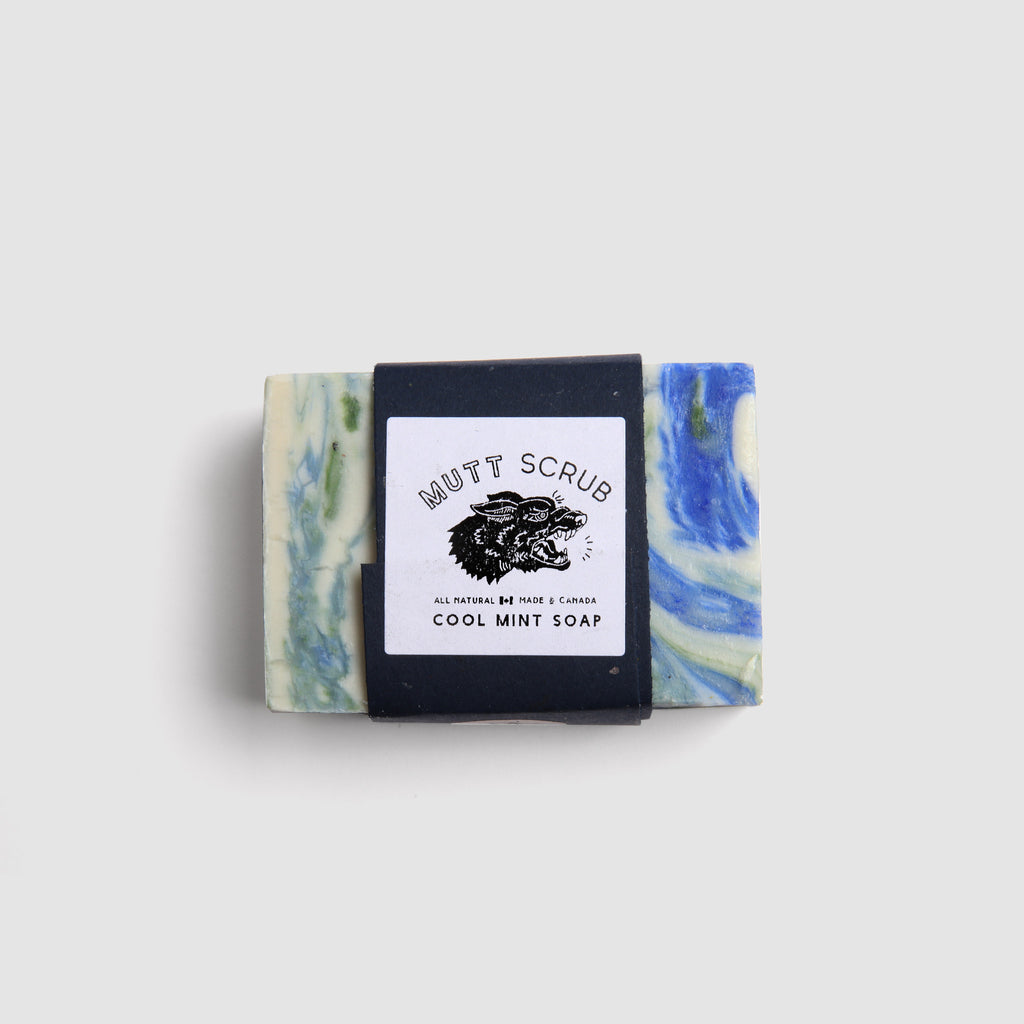 Mutt Scrub - Cool Mint Soap