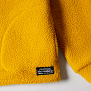 Alpine Full Zip - Mustard Sherpa