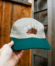 6 Panel - Khaki/Forest Mutts