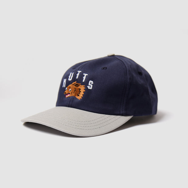 6 Panel - Navy/Grey Mutts