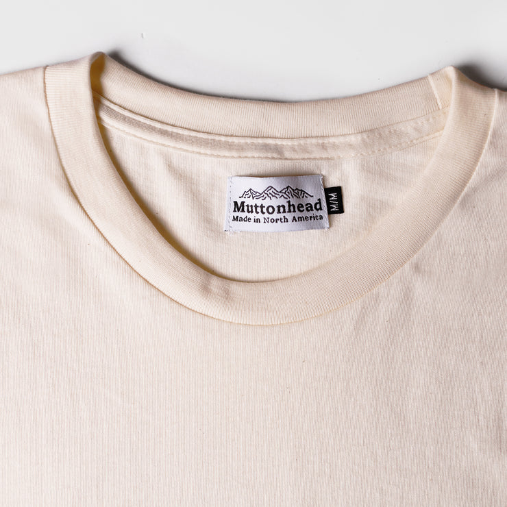 Recycled Tee - Natural