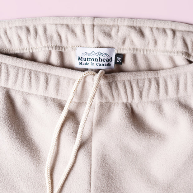 Sweatpants - Recycled Fleece Oatmeal