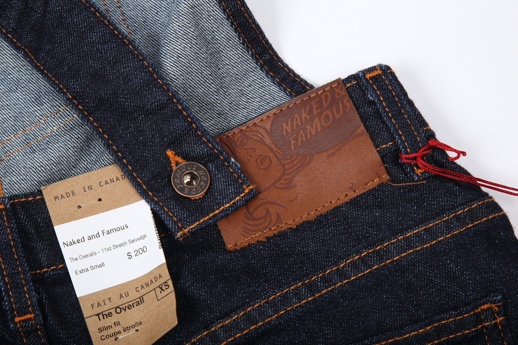 035505 The Overalls - 11oz Stretch Selvedge