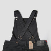 Women's The Overalls - Black Power Stretch