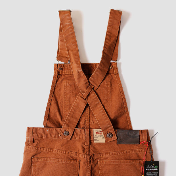 Women's The Overalls - Brick Canvas