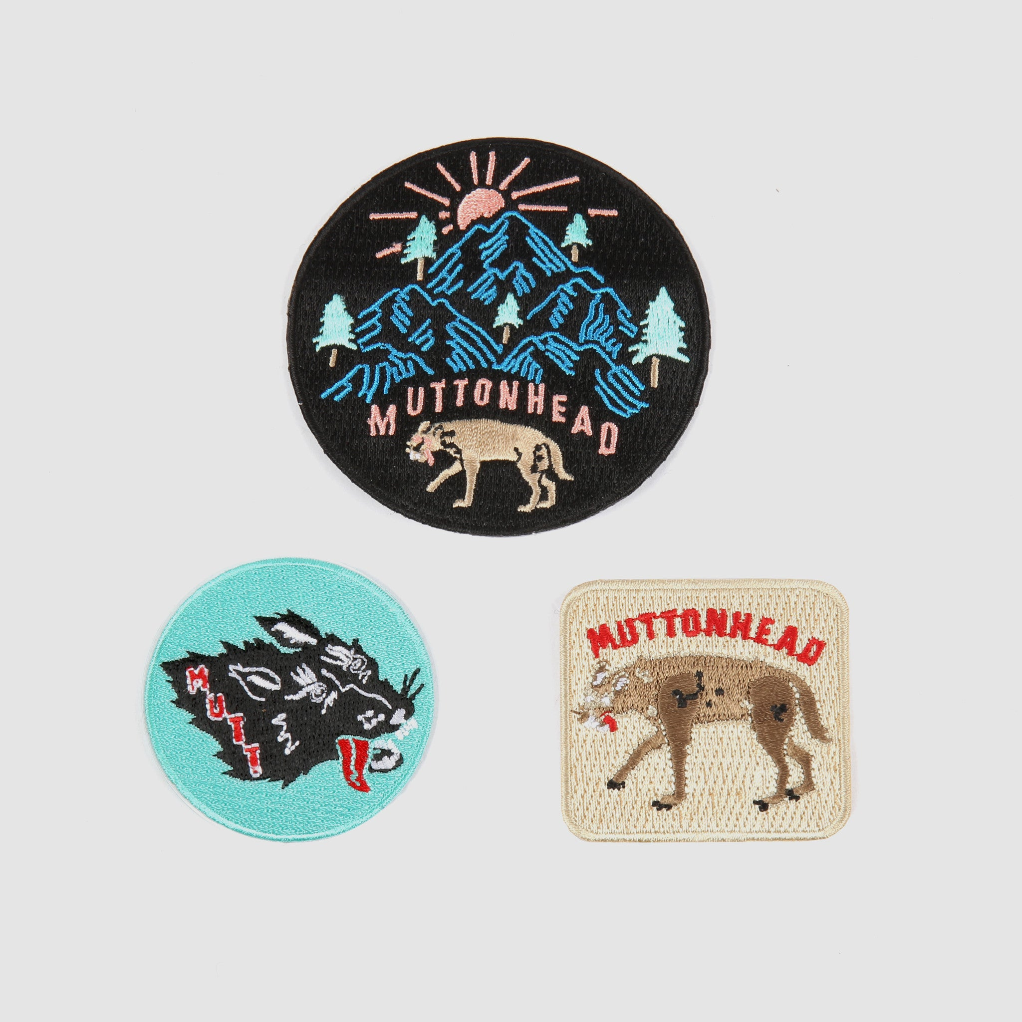 Stray Mutt Patches - Assorted