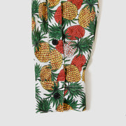 Long Sleeve Buttondown - Juicy Pineapple - White
