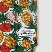 Short Sleeve Buttondown - Juicy Pineapple - White