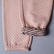 Sweatpants - Cross Stitch Quilt Pink