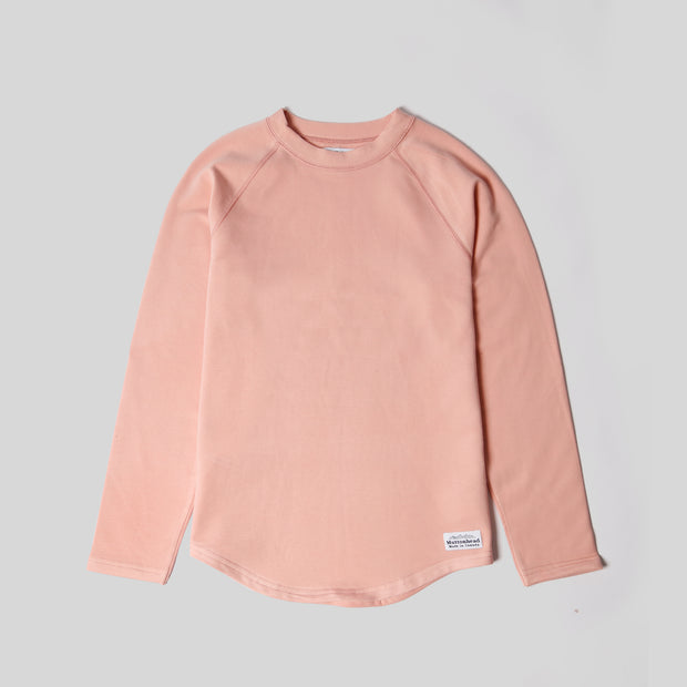 Bamboo Base Layer Shirt - Pale Rose