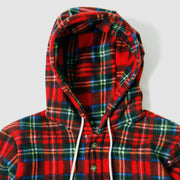 Camping Hoodie -  Royal Stewart Polar Fleece