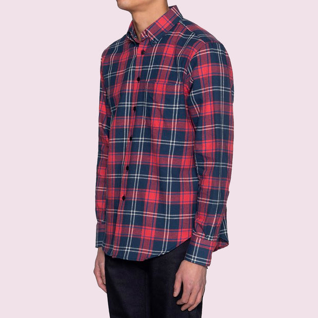 Easy Shirt - Summer Madras - Red