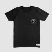 Camp Out Organic Pocket Tee - Black