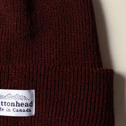 Alpine Knit Toque - Ruby