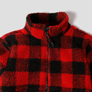 Alpine Full Zip - Red Buffalo Sherpa