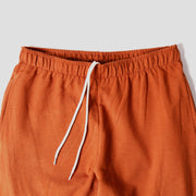 Bamboo Lounge Pant - Rust